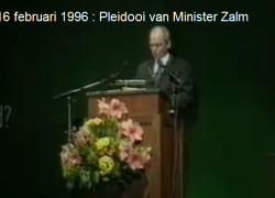 De plannen van Het Verbond : Herhaling van zetten uit 1994.