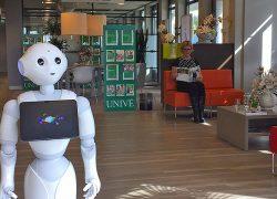 Ik, robot, heet u welkom bij Univé