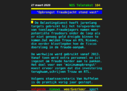 Spotlight :Ambtenaren manipuleren software IT-leverancier
