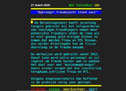 Spotlight : Financiën en Justitie manipuleren software IT-leverancier
