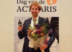 Stephan van Stalborch uitgeroepen tot Actuaris van het Jaar