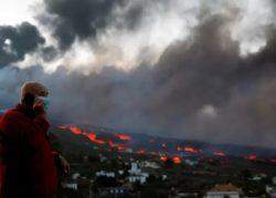 LA PALMA : Vulkanische lavastroom verslindt woningen van 6000 inwoners
